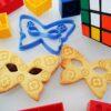 Formina biscotti Maschera Carnevale Farfalla