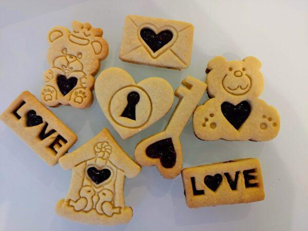 Biscotti San Valentino Formine biscotti stampini cookie cutters