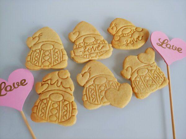 Biscotti per innamorati Gnomi di San Valentino