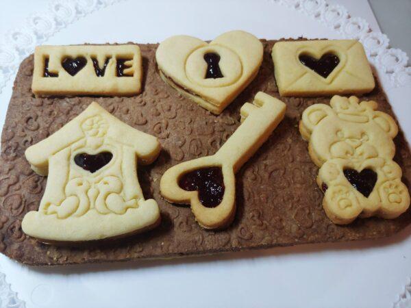 Tagliapasta per biscotti di San Valentino