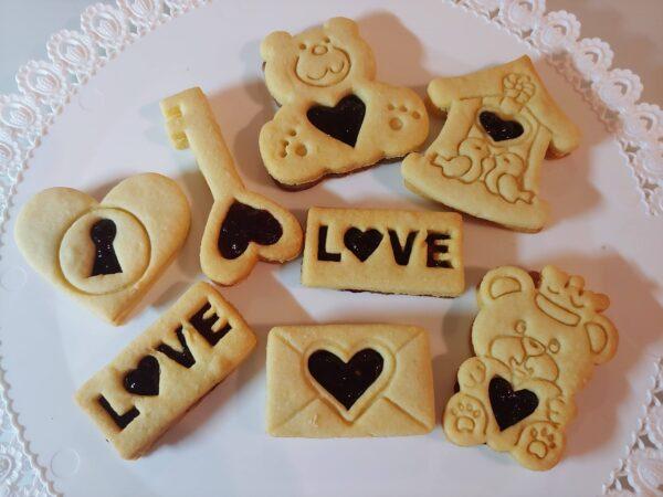 Stampibiscotti orsetti San Valentino