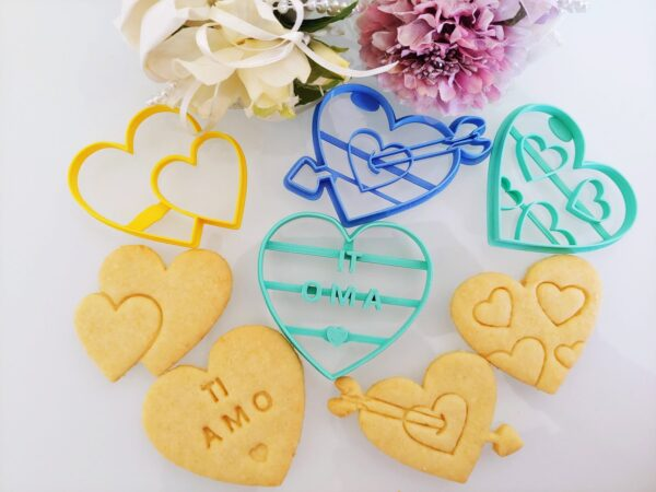 Set 4 Cuori San Valentino