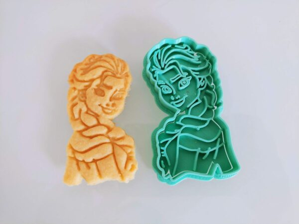 formina biscotti frozen Elsa