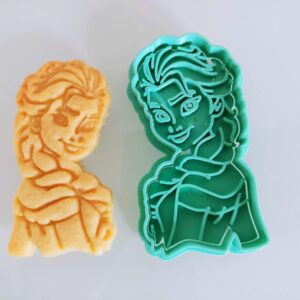Elsa Frozen formina biscotti