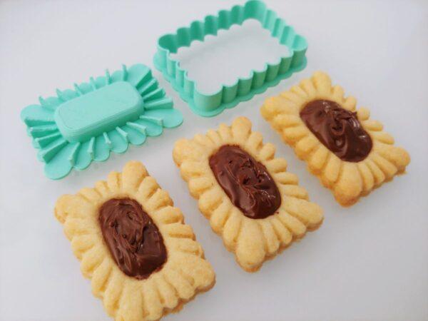 Formina Biscotti mignon rettangolare