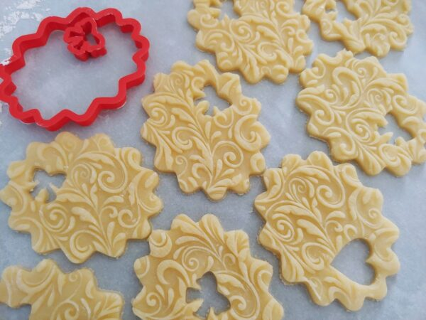 cornice per biscotti pastafrolla