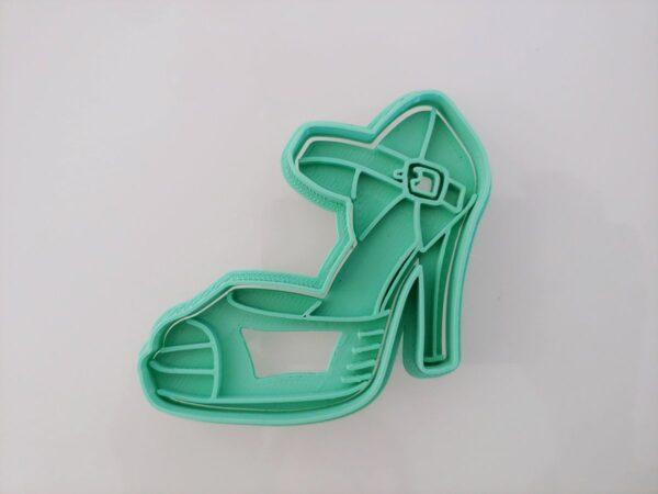 Stampino per biscotti tagliapasta scarpa con tacco