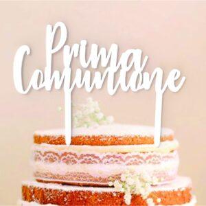 Cake Topper Prima Comunione