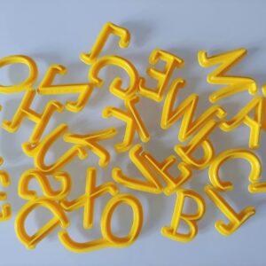 Alfabeto mini 26 Lettere Maiuscole