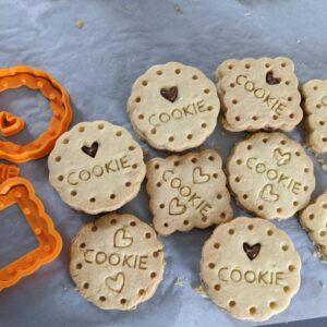 Love Cookie Rotondo Quadrato